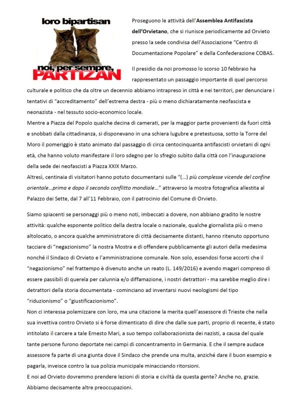 comunicato assemblea antifa 1 fronte