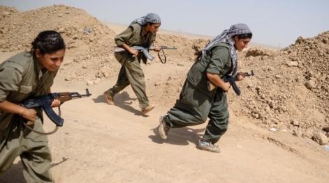 donne curde a kobsane
